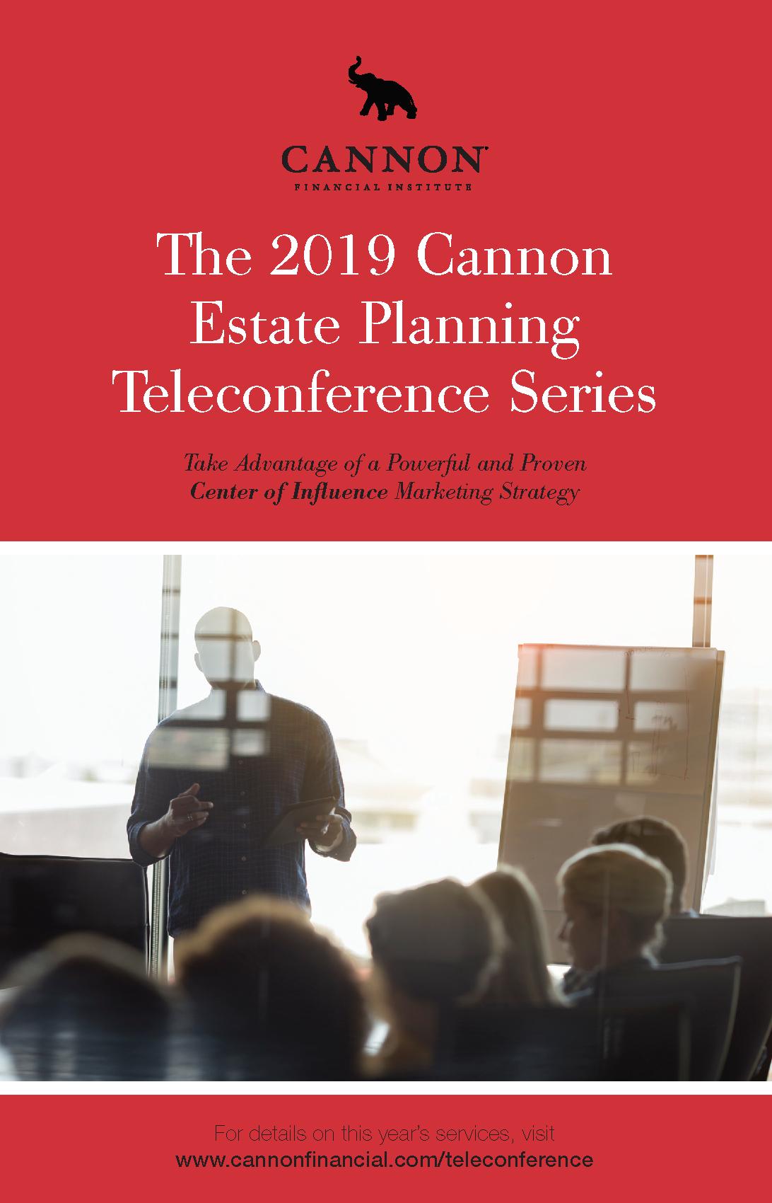 2019 Estate Planning Teleconference