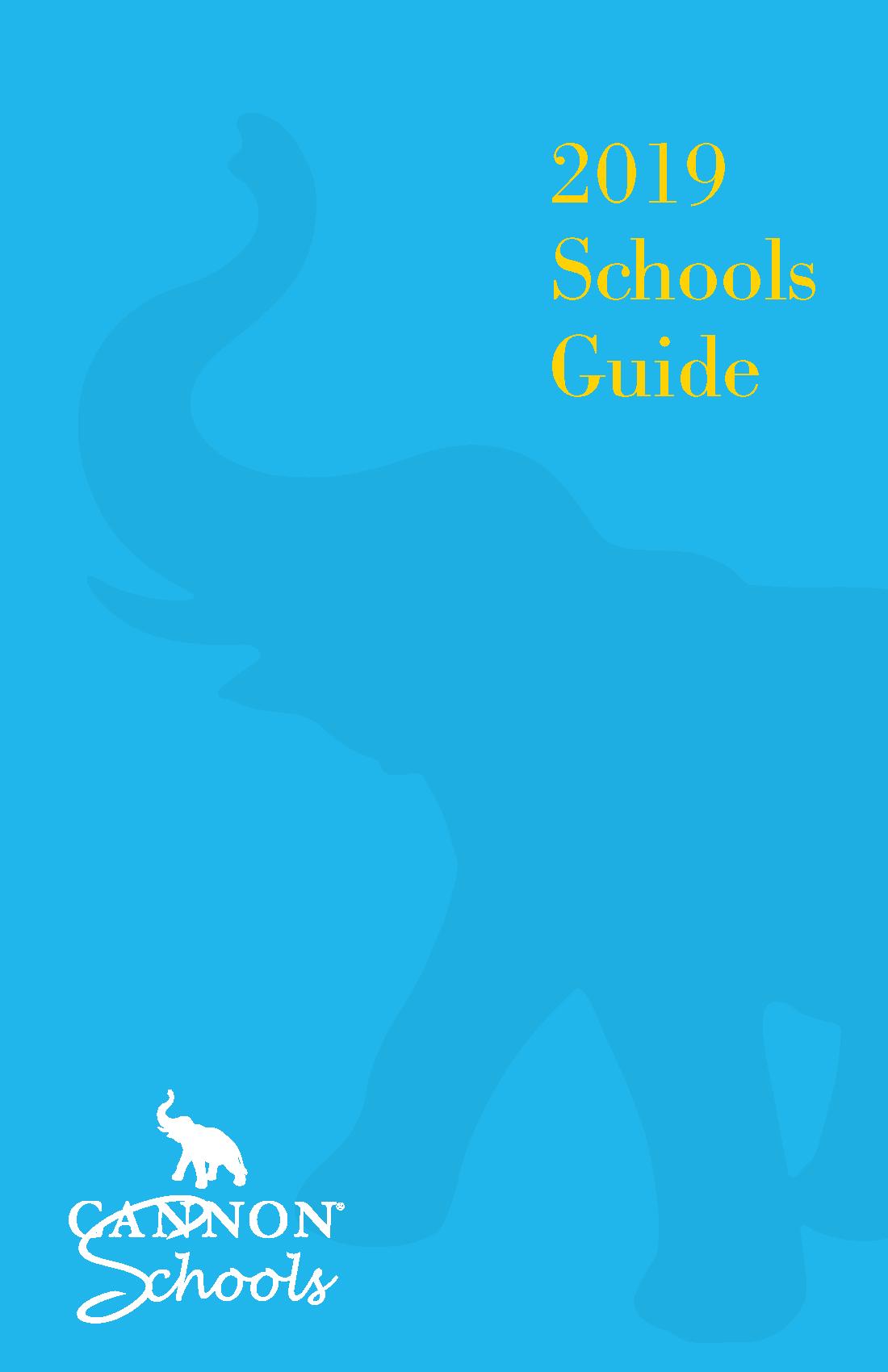 2019 Cannon Schools Guide