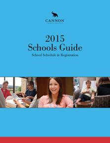Cannon Schools Guide