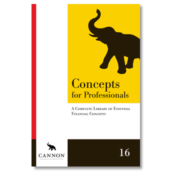 Cannon Concepts for Professionals, 16th Edition